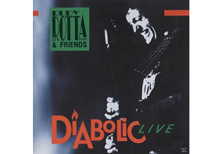 Rudy Band & Friends Rotta - Diabolic Live - (CD)