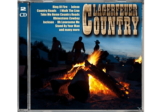 VARIOUS - Lagerfeuer Country - (CD)