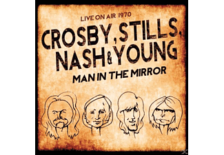 Crosby, Stills, Nash & Young - Man In The Mirror/Live On Air 1970 - (CD)