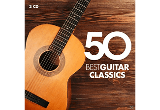 VARIOUS - 50 Best Guitar Classics - (CD)