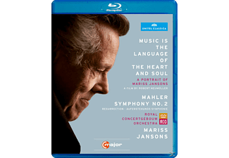 Fink, Rco, Jansons, Merbeth, Mariss Jansons - Music Is The Language Of The Heart And Soul - (Blu-ray)