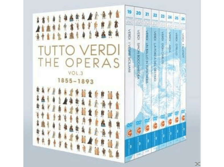 Tutto Verdi, VARIOUS - Tutto Verdi Operas Vol.3 [Blu-ray]