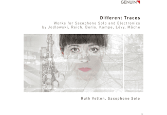 Ruth Velten - Works for Saxophone Solo And Electronics - (CD)