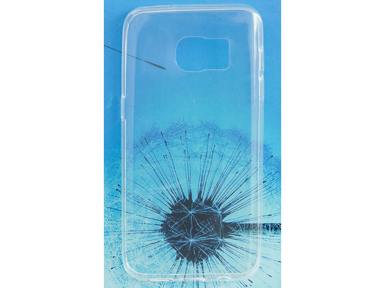 V-DESIGN PIC 002 Backcover Samsung Galaxy S7 Thermoplastisches Polyuretan Transparent