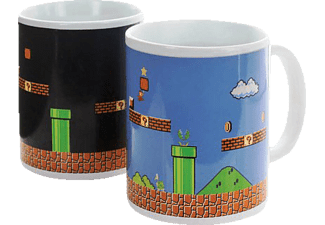 PALADONE PRODUCTS Super Mario Thermoeffekt Becher Becher, Weiß