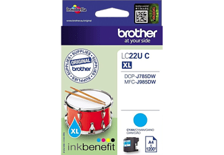 BROTHER LC22UC Cyan