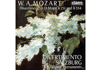 Divertimento Salzburg - Divertimenti K 251 u.334 - (CD)