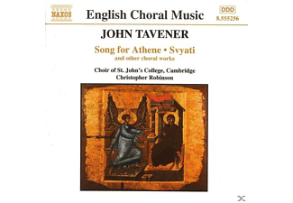 Choir Of St John S College, Robinson/St.Johns College Choir - Song For Athene/Svyati - (CD)
