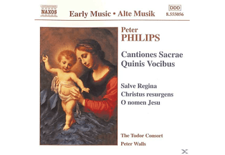 TUDOR CONSORT,THE & WALLS,PETER - Cantiones Sacrae Quinis Vocibu - (CD)