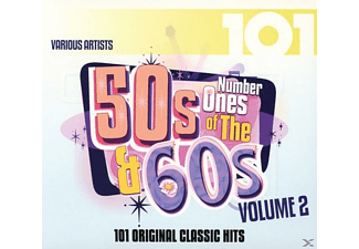 Number Ones Of The 50s & 60s Vol 2 - 101-Number Ones Of The 50s & 60s Vol.2 - (CD)