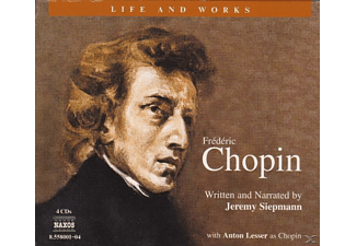 Life & Works-Frederic Chopin - 4 CD - Biographien/Porträt