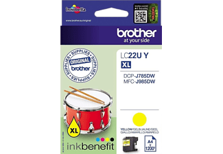 BROTHER LC22UY Jaune