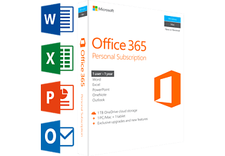 Office 365 Personal (UK) | 1 PC of Mac + 1 tablet + 1 smartphone
