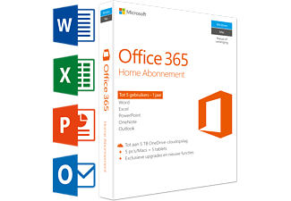 Office 365 Home (NL) | 5 PC's of Mac + 5 tablets + 5 smartphones