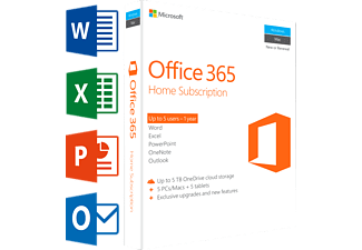 Office 365 Home (UK) - 5 PC's or Mac + 5 tablets + 5 smartphones