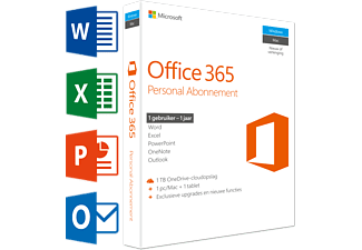 Office 365 Personal (NL) | 1 PC of Mac + 1 tablet + 1 smartphone
