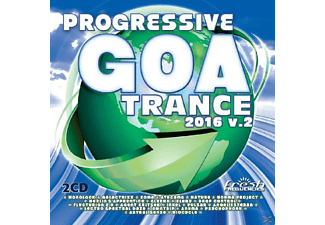 VARIOUS - Progressive Goa Trance  2016 Vol.2 - (CD)