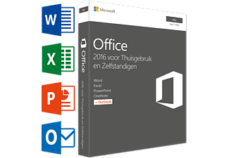 Office Mac Home and Business 2016 (NL) - 1 Mac