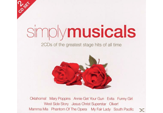 VARIOUS - Simply Musicals (2cd) - (CD)