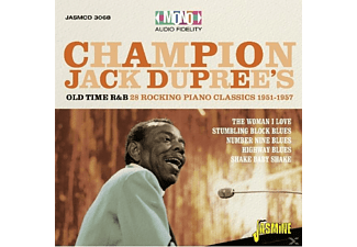 Champion Jack Dupree - Old Time R&B - (CD)