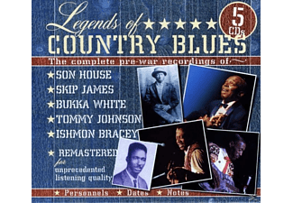 VARIOUS - Legends Of Country Blues - (CD)