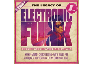 VARIOUS - The Legacy of Electronic Funk - (CD)