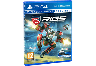 RIGS Mechanized Combat League VR PlayStation 4