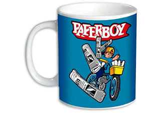 Paperboy Tasse Throwing
