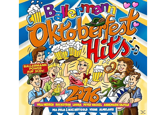 VARIOUS - Ballermann Oktoberfest Hits 2016 - (CD)