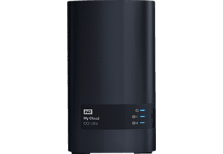 WD My Cloud™ EX2 Ultra, 16 TB, Anthrazit, Externe Festplatte, 3.5 Zoll