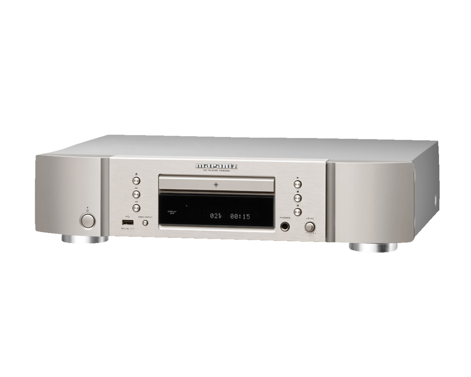 marantz cd6006 cd player silber gold ebay. Black Bedroom Furniture Sets. Home Design Ideas