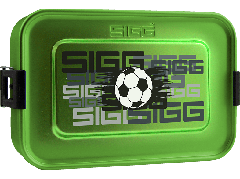 SIGG  8591.8 Alu Box Plus S Football Brotdose | 07610465859186