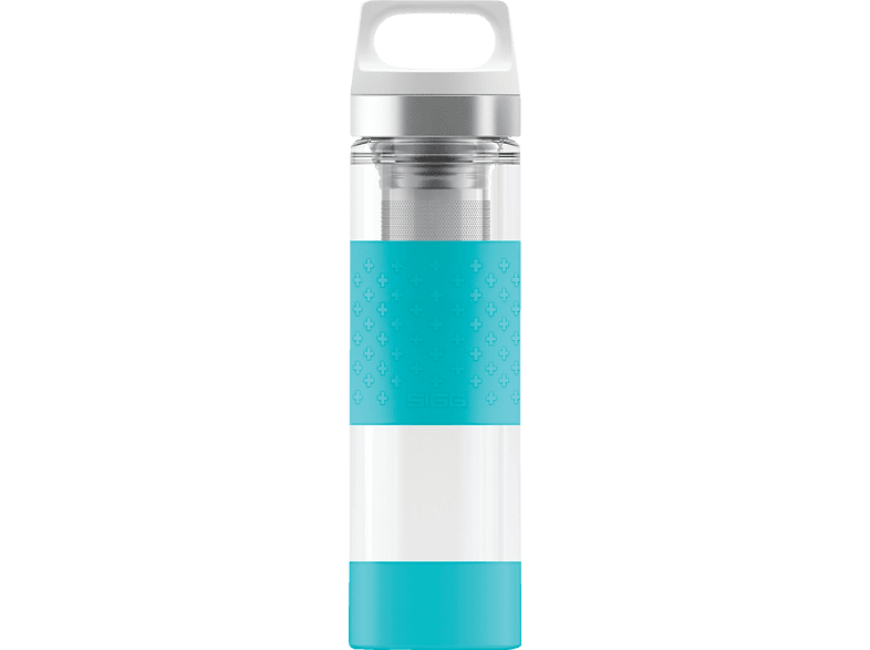SIGG 8555.7 Hot & Cold Glass Aqua  Isolierflasche