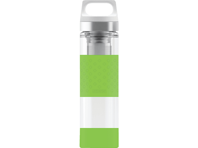 SIGG 8555.8 Hot & Cold Glass Green  Isolierflasche