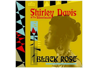 Shirley Davis, The Silverbacks - Black Rose - (CD)