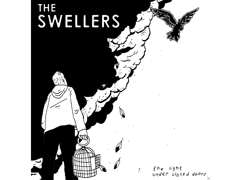 The Swellers - The Light Under Closed Doors (Black+White Haze Vin [Vinyl]