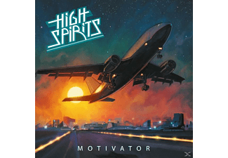 High Spirits - Motivator (Ltd.Orange Crush Vinyl) - (Vinyl)