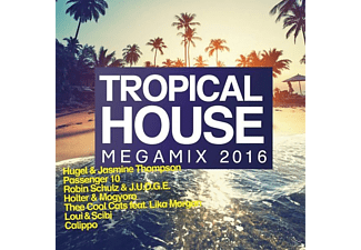 VARIOUS - Tropical House Megamix 2016 - (CD)