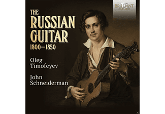 Oleg Timofeyev, John Schniederman - The Russian Guitar - (CD)