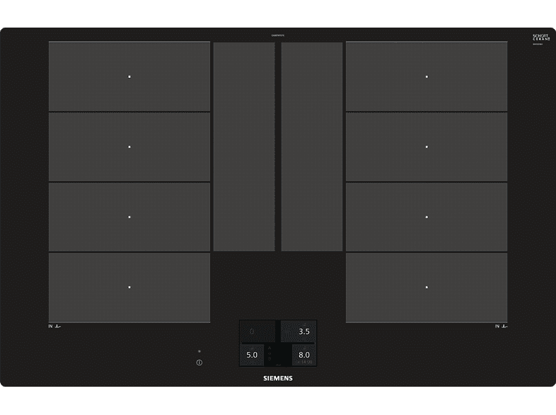 Siemens iQ700 EX801KYE1E induction hob self-sufficient