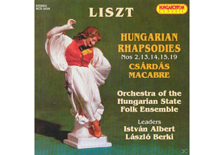 Orchestra Of The Hungarian State Folk Ensemble - Hungarian Rhpsodies, Csárdás Macabre (CD)