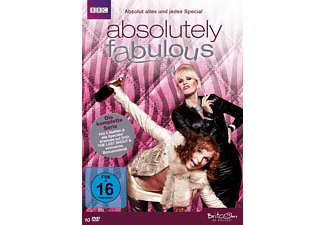 Absolutely Fabulous - Die komplette Serie. Absolut alles und jedes Special - (DVD)