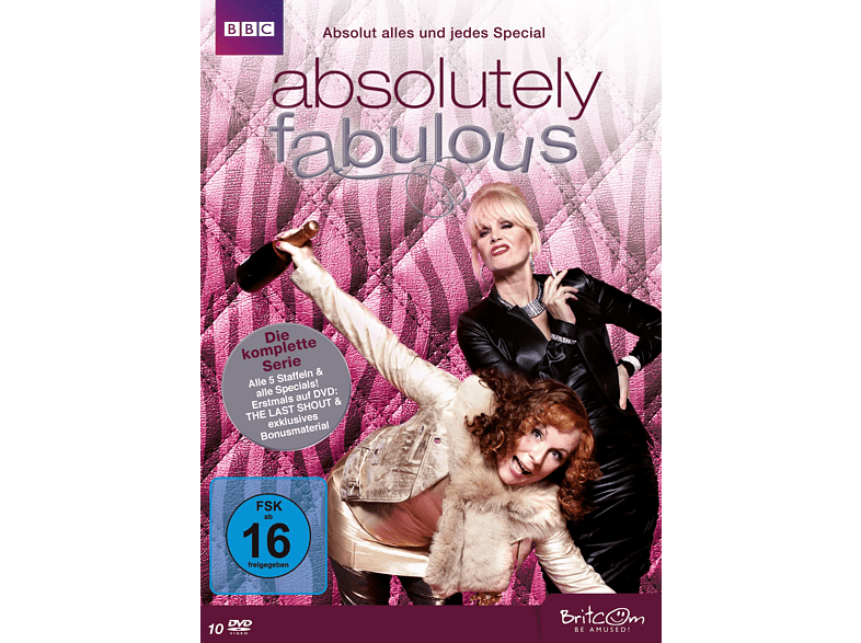 Absolutely Fabulous - Die komplette Serie. Absolut alles und jedes Special [DVD]