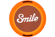 SMILE 70's Home 67 mm Objektivdeckel, Orange/Braun
