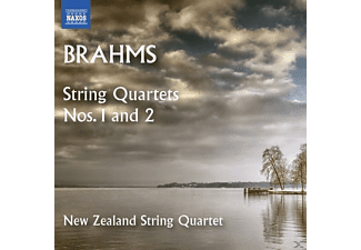 The New Zealand String Quartet - Streichquartette 1+2 - (CD)
