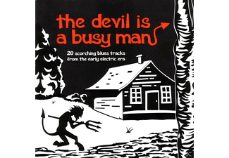 VARIOUS - The Devil Is A Busy Man - (CD)