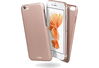 SBS MOBILE SBS MOBILE Slim Gold Collection iPhone 6/6S Case - Rosa