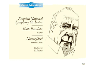 N./Randalu/Estonian National SO Järvi - Klavierkonzert 1,op.15/Festliche Präludien, - (CD)