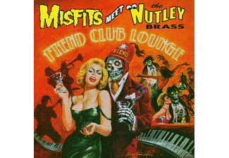 The Misfits Meet Nutley Brass - Fiend Club Lounge (Feat. The Nutley Brass) - (CD)