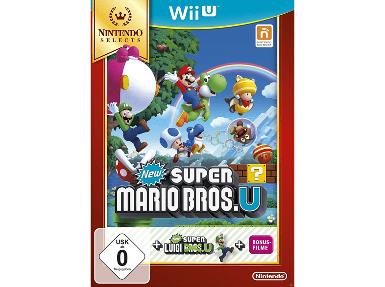 New Super Mario Bros. U + New Super Luigi U (Nintendo Selects) [Nintendo Wii U]
